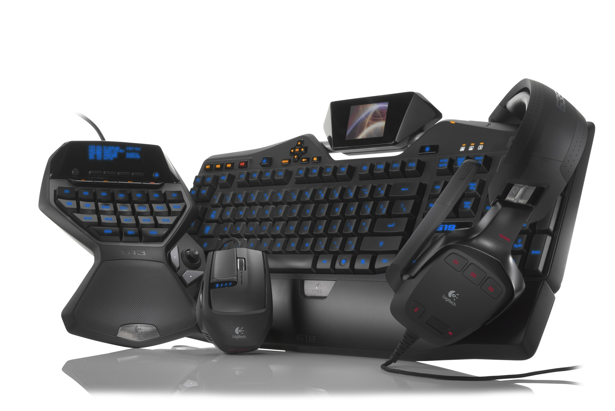how to create macro with logitech g
