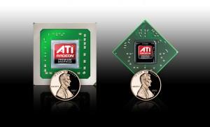 Taille du GPU ATI Mobility Radeon HD 4860