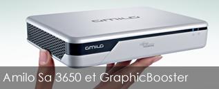 Fujitsu Siemens Amilo Sa 3650 + GraphicBooster sur Portables4Gamers