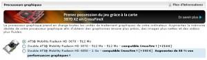 ATI Mobility Radeon HD 4850 sur l'Area-51 m17