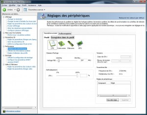 Alienware Area-51 m17x - nVIDIA Systeme Tool - CPU