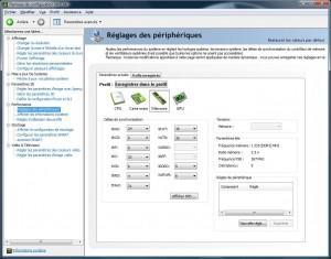 Alienware Area-51 m17x - nVIDIA Systeme Tool - Mémoire