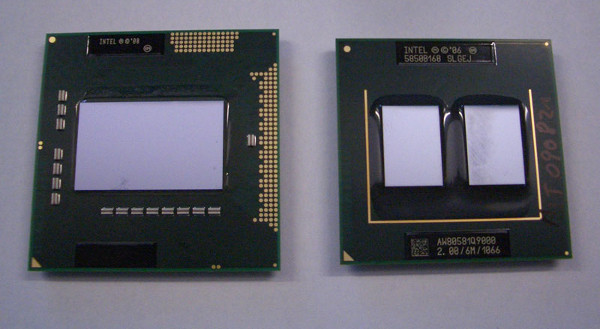 Intel Clarksfield - Core 2 Quad Q9000