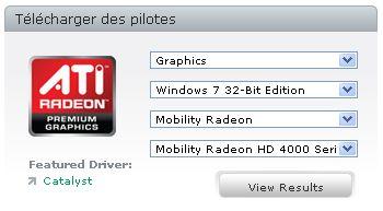 Drivers ATI Mobility Radeon