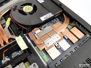 GeForce GTX 260M de l'Asus G51J