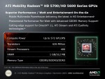 Mobility Radeon HD série 5600 - 5700