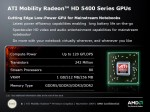Mobility Radeon HD série 5400