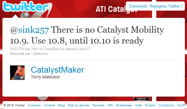 Catalyst Mobility 10.9