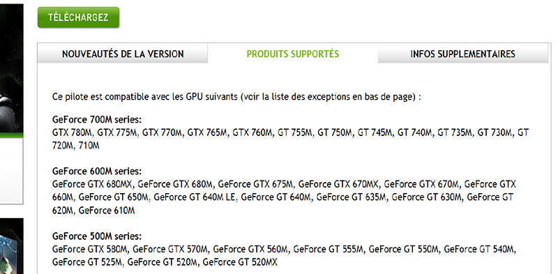 Nvidia geforce GTX775M
