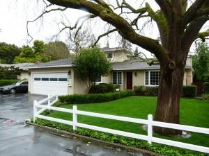 Garage Google, siège social historique ou est fondé Google le 4 septembre 1998, 232 Santa Margarita, Menlo Park, Californie.