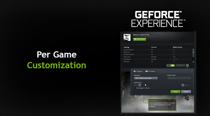 geforce experience portable joueur