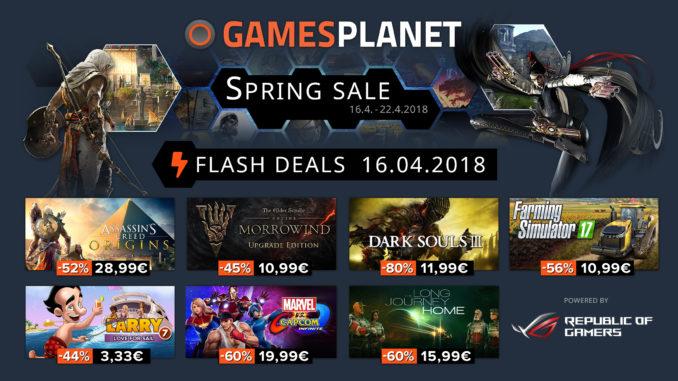 Gamesplanet's Spring sale